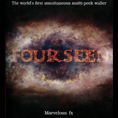 Fourseen Wallet (Wallet & 2DVD set) by Matthew Wright - Trick