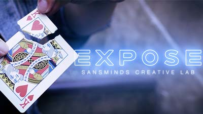 Expose (Gimmicks and DVD) by SansMinds Creative Labs - DVD
