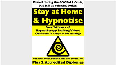 STAY AT HOME & HYPNOTIZE - HOW TO BECOME A MASTER HYPNOTIST WITH EASEBy Jonathan Royle & Stuart ''Harrizon'' Cassels Mixed Media DOWNLOAD