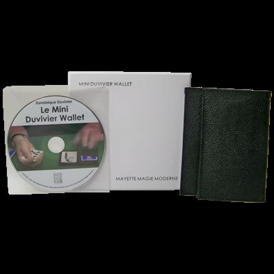 The Mini Duvivier Wallet (With DVD) by Mayette Magie Moderne -Trick