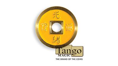 Dollar Size Chinese Coin (Yellow) by Tango (CH031)