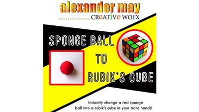 Ball to Rubik's Cube by Alexander May - Trick