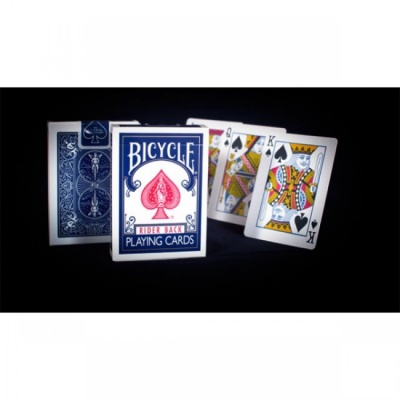 Bicycle Poker Size 807 or 808 Playing Cards Blue Rider Back