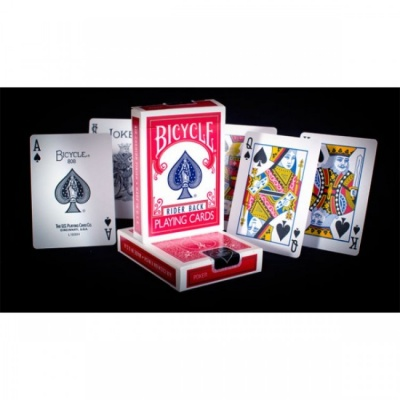 Bicycle Poker Size 807 / 808 Playing Cards RED Rider Back