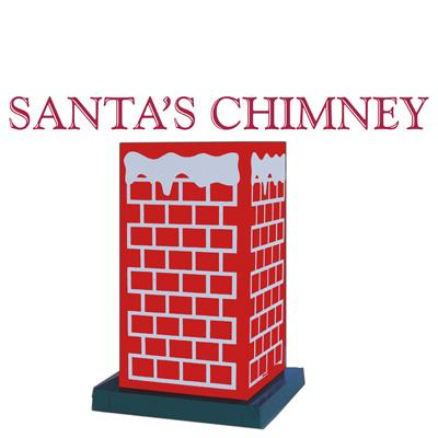 Santa's Chimney by Daytona Magic Inc. - Trick