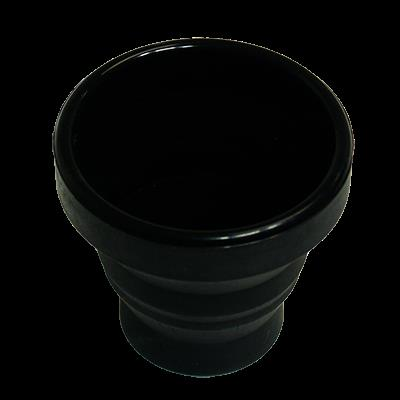 Harmonica Chop Cup Black (Silicon) by Leo Smetsers - Trick
