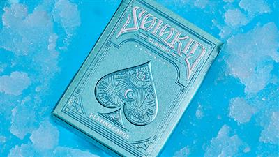 Solokid Cyan Playing Cards by SOLOKID Playing Cards