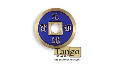 Dollar Size Chinese Coin (Blue) by Tango (CH030)