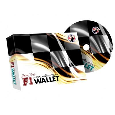 F1 Wallet (Blue) by Jason Rea and Alakazam - DVD