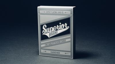 Superior (Black) Playing Cards by Expert Playing Card Co