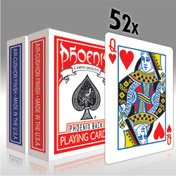 Phoenix Deck Oneway Forcing Deck Red