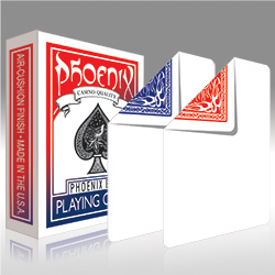Phoenix Deck Blank Face Blue