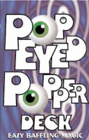 Pop Eye Popper Deck Bicycle Red
