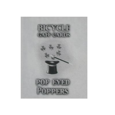 Pop Eyed Popper Deck Bicycle (Red)