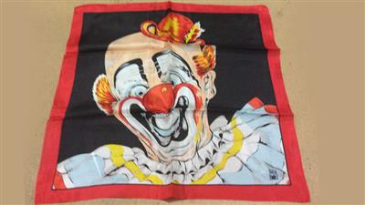 Rice Picture Silk 18'' (Circus Clown) by Silk King Studios - Trick