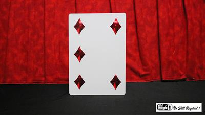 Pip Card Magnetic (Jumbo) by Mr. Magic - Trick