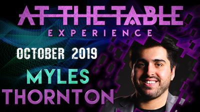 At The Table Live Lecture Myles Thornton October 16th 2019 video DOWNLOAD