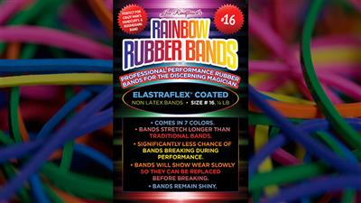 Joe Rindfleisch's SIZE 16 Rainbow Rubber Bands (Combo Pack) - Trick