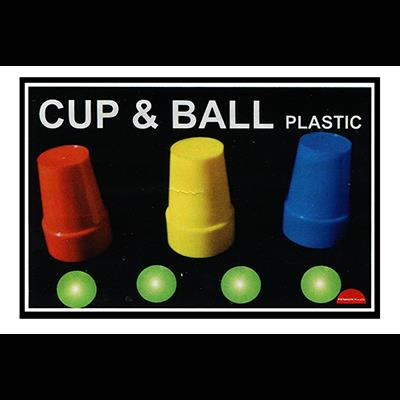 Cups and Balls (Plastic) by Premium Magic  - Trick