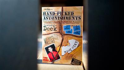Paul Harris Presents Hand-picked Astonishments (Invisible Deck) by Paul Harris and Joshua Jay - DVD