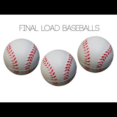Final Load Base Balls 2.5'' (3pk) - by Big Guy's Magic
