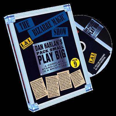 Harlan The Bizarre Magic Show - DVD