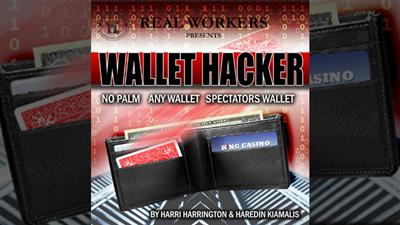 Wallet Hacker RED (Gimmicks and Online Instruction) by Joel Dickinson - Trick