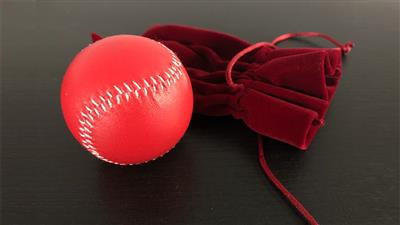 Final Load Ball Leather (5.7 cm Red) by Leo Smetsers - Trick