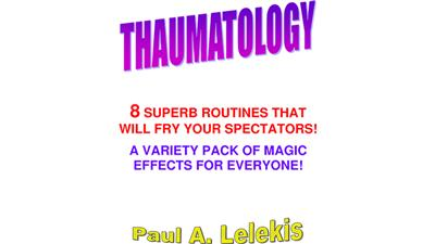 THAUMATOLOGY by Paul A. Lelekis eBook DOWNLOAD