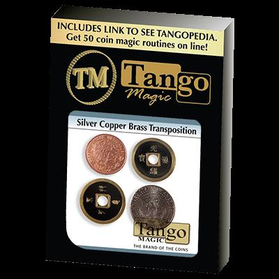 Silver Copper Brass Transposition (CH002) Tango