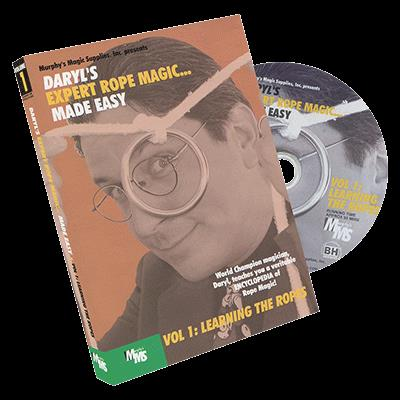 Expert Rope Magic Made Easy by Daryl - #1, DVD