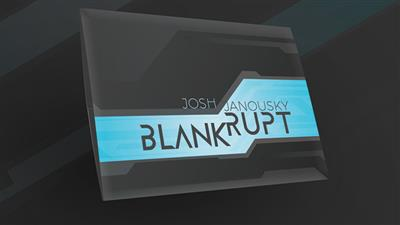 Blankrupt Thick Strip UK Version (Gimmicks and Online Instructions) by Josh Janousky - Trick