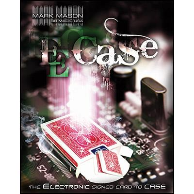 E-Case (Red) by Mark Mason and JB Magic - DVD