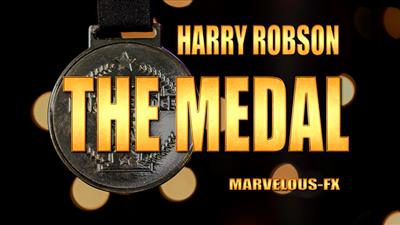 The Medal BLUE by Harry Robson & Matthew Wright - Trick