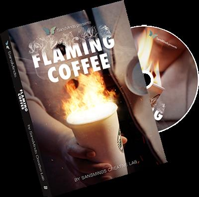 Flaming Coffee by SansMinds Creative Lab - DVD