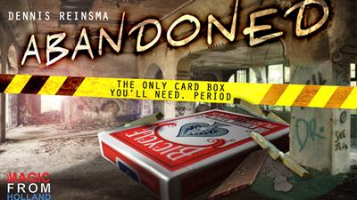 Abandoned RED (Gimmicks and Online Instructions) by Dennis Reinsma & Peter Eggink - Trick