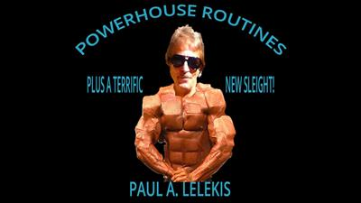 POWERHOUSE ROUTINES by Paul A. Lelekis Mixed Media DOWNLOAD