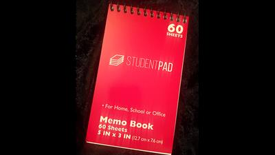 SvenPad® KoD Memo Pad (Red, Single) - Trick
