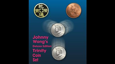 Deluxe Edition Trinity Coin Set (DVD) by Johnny Wong - Trick