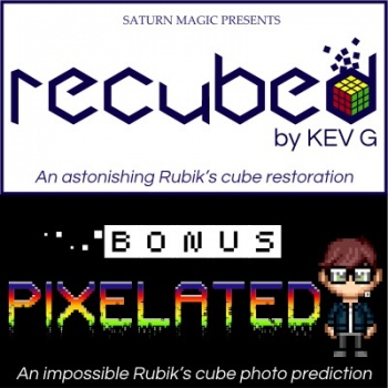 Recubed with Bonus Pixelated by Kev G