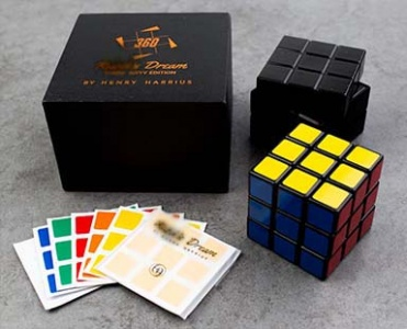 Isolated Magnet Conversion Set for Rubik's Dream 360 by Henry Harrius RD360