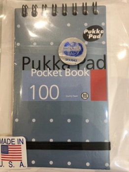 SvenPad® KoD UK Pukka Memo Pad Edition (Cover Colour Varies, Single).