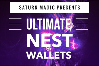 Ultimate Nest of Wallets by Saturn Magic