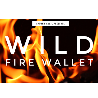 Wild Fire Wallet by Saturn Magic